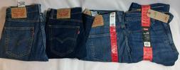 Men's Levi's 505 Regular Fit Rigid Straight Leg Jeans - Choo