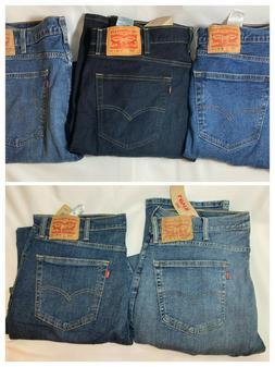Men's Levi's 505 Regular Fit Stretch Straight Leg Jeans - Ch