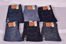 Men's Levi's 527 Slim Fit Bootcut Denim Jeans - Choose Color