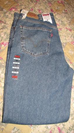 Men's Levi's 550 Relaxed Fit Straight Jeans Size 40 x 34 NWT