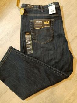 Men's Lee Loose Fit  Straight Leg Jeans Size 52X30 NWT Big a