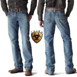 Ariat Men's M4 Low Rise Boot Cut Jean, Roadhouse, 35x36