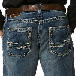 Ariat Men's M5 Adkins Dark Wash Slim Stragiht Leg Jeans 1003