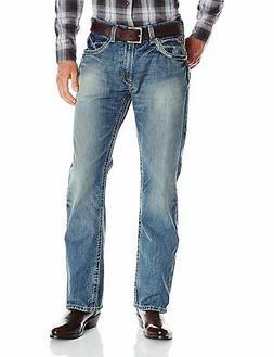 Ariat Men's M5 Slim Boot Cut Jean, Gambler 10012703