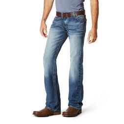 Ariat® Men's M7 Rocker Cooper Slim TekStretch Bootcut Jeans