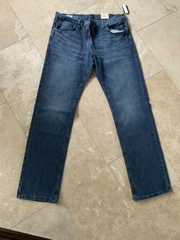 Nautica Men's Medium Wash Relaxed Fit Stretch Denim Jeans 34