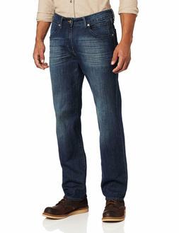 Lee Men's Modern Series L342 Straight Fit Jeans - Blue Devil