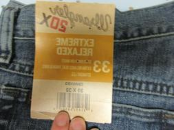 Wrangler 20X Men's No.33 Extreme Relaxed Fit Jeans Straight
