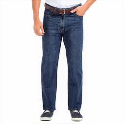 Men's Haggar Premium Relaxed-Fit Straight-Leg Jeans, Size 42
