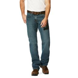 5634c4378e8 Ariat® Men's Rebar M4 Low Rise DuraStretch Boot Cut Jeans 1