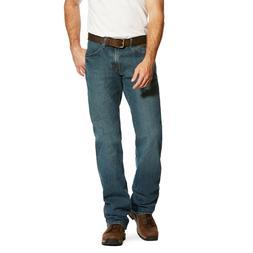 Ariat® Men's Rebar M4 Low Rise DuraStretch Boot Cut Jeans 1