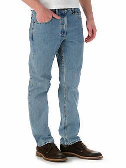 Lee Men's Regular Fit Straight Leg Jeans - Light Stone 20089