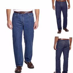 Kirkland Signature Men's Relaxed Comfort Fit Cotton Jeans Pa