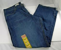 Men's Wrangler Relaxed Fit Jeans 42 x 32 Flex for Comfort