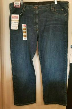 Men's Wrangler Relaxed Fit Performance Series Jeans Size 42x