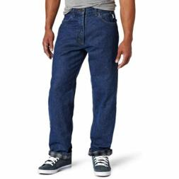 Carhartt Men's Relaxed Fit Straight Leg Flannel Lined Jean,