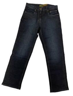 Urban Star Men's Relaxed Fit Straight Leg Jeans Midnight Blu