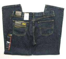 Men's Lee Relaxed Fit Straight Leg Blue Jeans  Tomas
