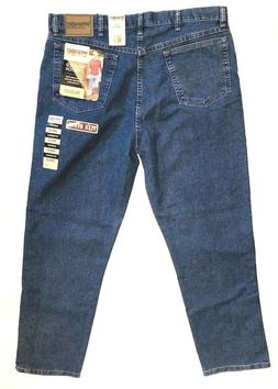 Wrangler Men's Relaxed Fit Stretch Bootcut Blue Jeans Size 3
