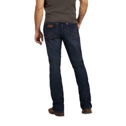 Wrangler Men's Retro Lockhart Dark Wash Slim Bootcut Jeans 7