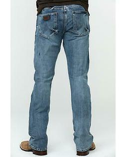 Wrangler Men's Retro Slim Fit Boot Cut Jeans  - 77MWZGL