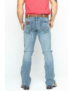 Wrangler Men's Retro Slim Fit Bootcut Jeans  - 77MWZGL