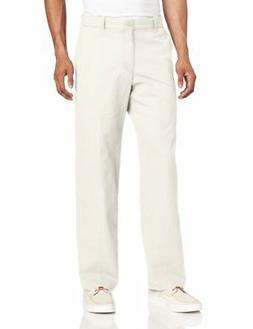 IZOD Men's Saltwater Flat Front Straight Fit Chino - Choose
