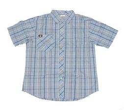 Dickies Men's Short Sleeve Casual Plaid Shirt