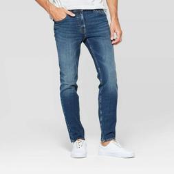 Men's Skinny Jeans - Goodfellow & Co Medium Vintage Denim Wa