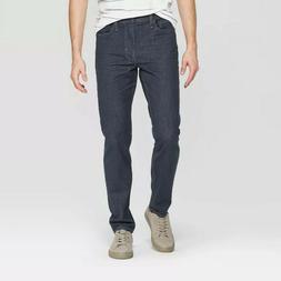 Men's Slim Fit Jeans - Goodfellow & Co Blue Gray Waist 28, I