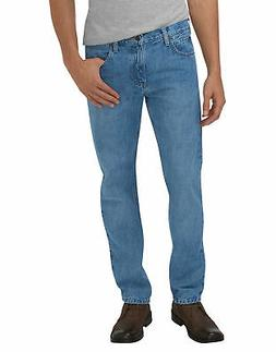 "DICKIES MEN""S SLIM FIT STRAIGHT LEG 5-POCKET JEAN HERITAGE L"
