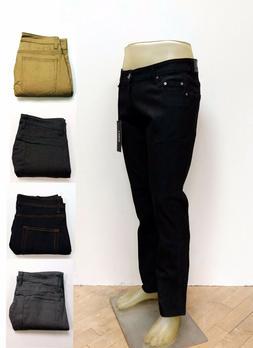 Kayden K Men's Slim Fit Stretch Jeans Raw Denim Pants SS101