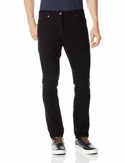 Dickies Men's Slim Skinny Five-Pocket Jean, Black, 34 X 32
