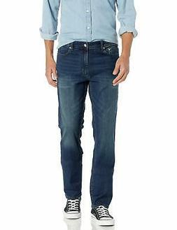 Calvin Klein Men's Slim Straight Jeans, Indigenous - Choose
