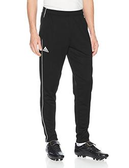 adidas Men's Soccer Core 18 Training Pants, Black/White, XXX