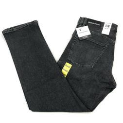Calvin Klein Men's Straight Fit Jeans Claree Gray Wash 32x30