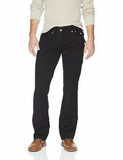 True Religion Men's Straight Relaxed Fit Jeans w/ Flap Pocke