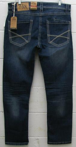 TK Axel Men's Stretch Athletic Fit Jeans TRUMBULL Pants Deni