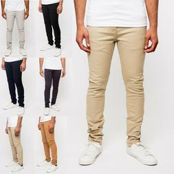 Victorious Men's Super Skinny Fit Stretch Colored Denim Jean