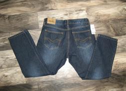 Men's sz 34x29 IZOD Slim Straight Fit Dark Wash Denim Blue J