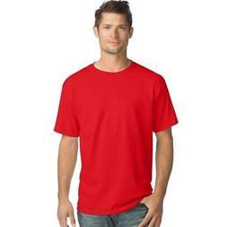 Hanes Men's TAGLESS ComfortSoft Crewneck T-Shirt , Size - 4