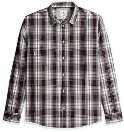 Quiksilver Men's Tidal Long Sleeve Button Down Shirt - Choos