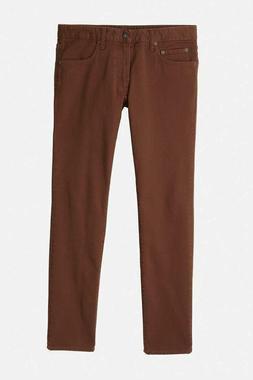 Bonobos Men's Travel Jeans Brown Sz 30X30 Straight NWOT Reta