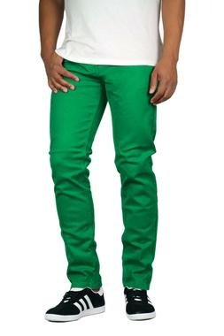 Victorious Men's Twill Stretch Color Skinny Jeans #1 Big & T