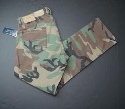 POLO RALPH LAUREN Men's Varick Slim Straight Camouflage Stre