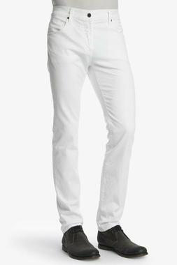 7 For All Mankind Men's White Paxtyn Skinny Jeans $228