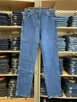 Wrangler Men's 13MWZGK Gold Buckle Jeans Original Fit Cowb