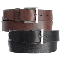 TIMBERLAND Mens 35MM Casual Belt GENUINE  LEATHER Rugged Cla