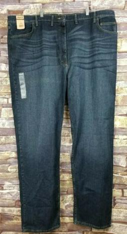 Mens 48 x 34 New Wrangler Relaxed Fit Denim Jeans Big and Ta