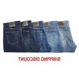 Mens Wrangler 5 Star  Regular Fit Jean Premium Denim